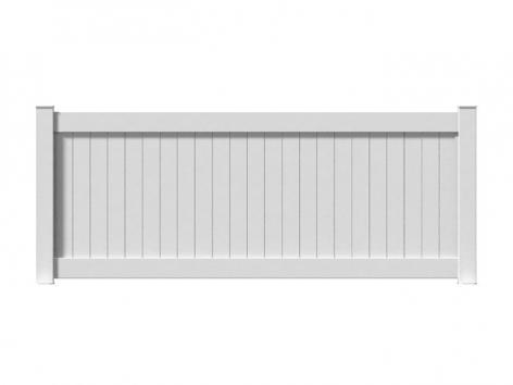 Clôture aluminium Cusenier packshot 3D