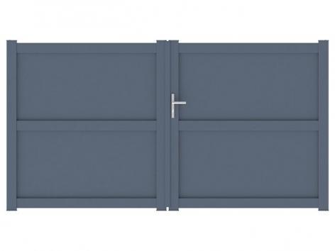 Portail aluminium Serre packshot 3D